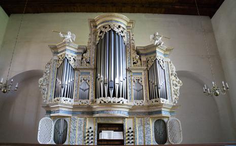 Orgelmuseum - Papenius Orgel