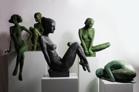 Bronzeplastiken - Susanne Kraisser