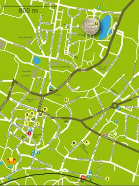 Stadtplan - mit Teilnehmer 2020