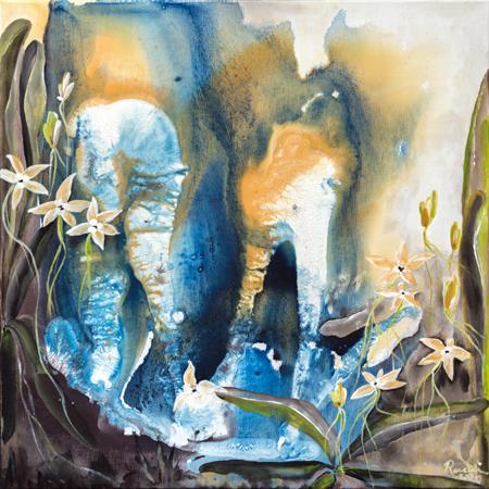 Wasserwelten und Orchideen - Rani B. Knobel