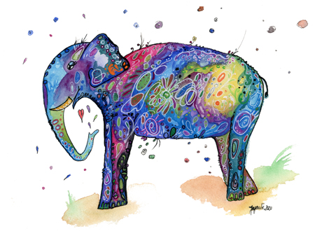 Magischer Elefant - Juliane Fenske